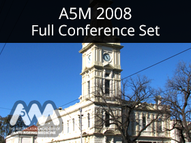 A5M 2008 Full Conference Set