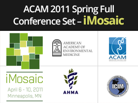 ACAM 2011 Spring Full Conference Set - iMosaic